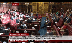 House of Lords debates assisted dying bill