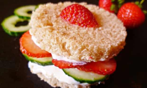 leftover cucumber recipe cucumber and strawberry cream