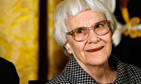 Harper Lee photographed in 2007