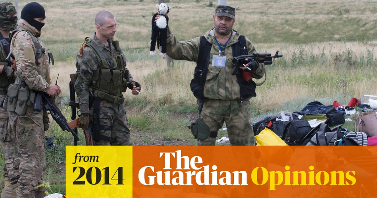 Russian media is covering up Putin's complicity in the MH17 tragedy   Masha Alekhina
