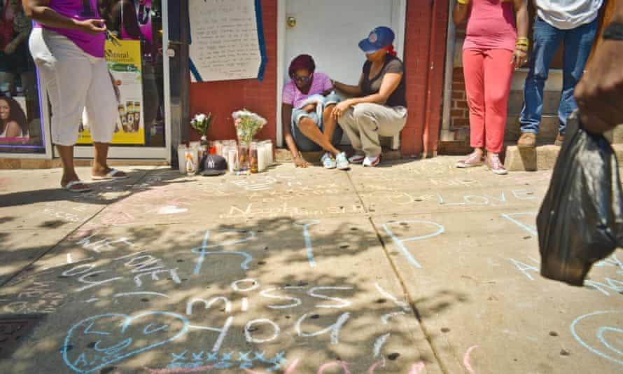 Eric Garner memorial