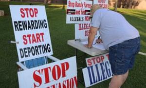 anti-immigration protest phoenix