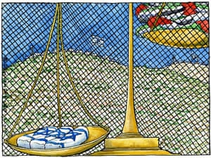 Steve Bell on the three teenagers killed in Israel – cartoon
