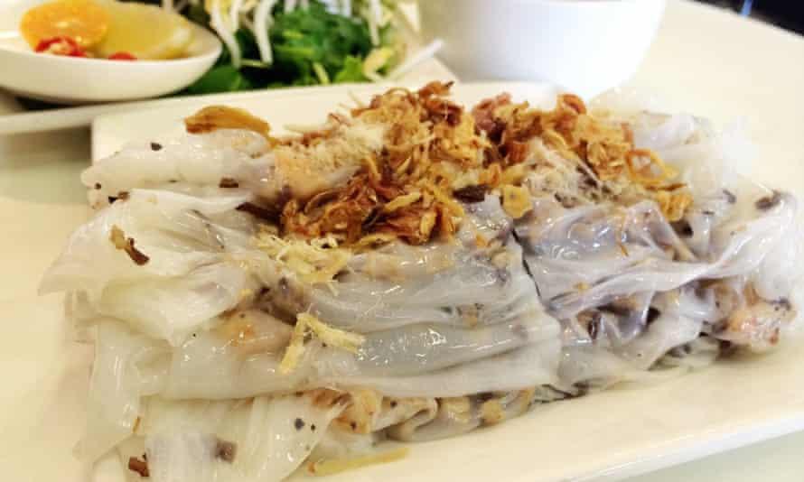 Sunshine: Banh cuon, the signature dish at Xuan Banh Cuon