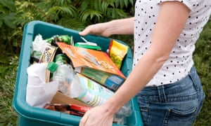 Dry recyclates (bottles, paper and cans) and food waste would make achieving a 70% recycling target affordable and easy.
