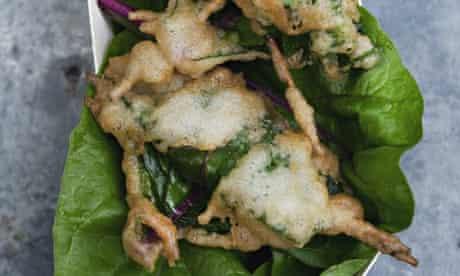 cod's roe tempura