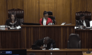 Judge Masipa in court on Wednesday.