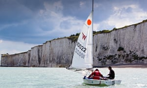 Sailing into hell: two men, a dinghy and one of the luckiest