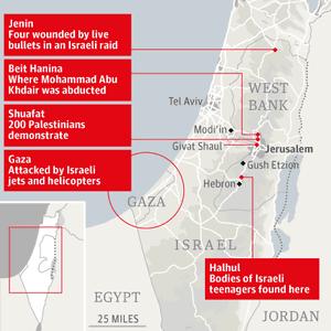 Israel Jerusalem unrest png