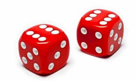 Pair of red dice