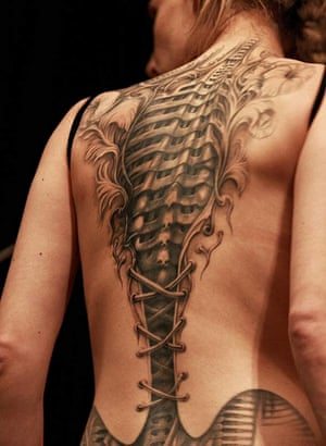 Corset Tattoo by Psychodelic Candy