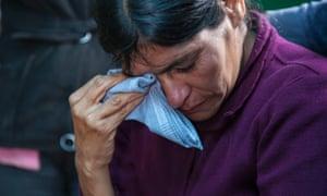Cipriana Juarez Diaz, mother of Gilberto Francisco Ramos Juarez