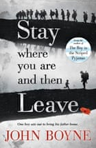 Stay Where You Are paperback cover, John Boyne