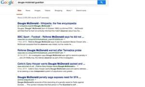 Screen shot of Google UK