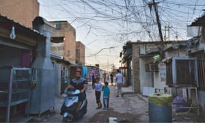 Life on the streets of the Baghdad suburb of Balidyat