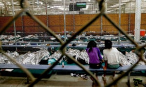 us immigration undocumented immigrants central american unaccompanied minors children border detainees detention center