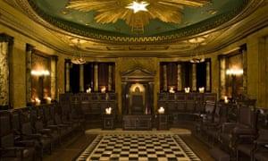 secret masonic hall, liverpool street, london