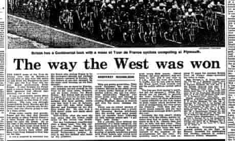 Observer - tour de france 1974