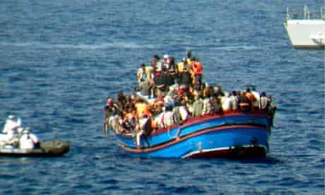 Boat rescue Italy