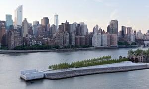 four freedoms park by louis kahn new york
