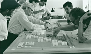Louis Kahn at work 1960s