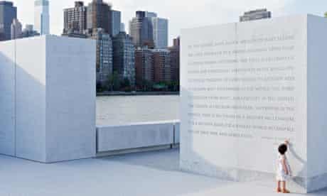 four freedoms park FDR speech inscribed