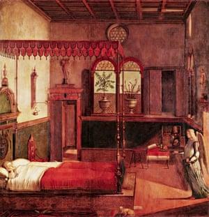 Dream of St Ursula by Vittore Carpaccio