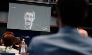 The NSA's activities were made public by revelations from Edward Snowden last year.