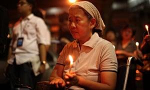 MH17 candlelit vigil