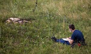 MH17 flight crash site investigator