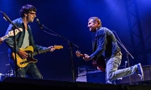 Damon Alban and Graham Coxon at Latitude