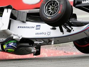 Massa makes dangerous air