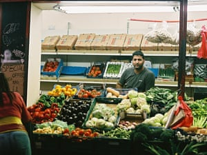 Shafait Rana, 37, has owned a stall in front of Peckham Rye railway station for more than a decade.