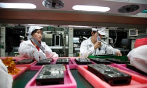 Apple, a green list ranker, was criticized for excessive overtime and harsh labor conditions in its Foxconn Technology Group facilities in 2011