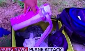 Colin Brazier, Sky News presenter at MH17 crash site