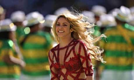Shakira World Cup Brazil Final