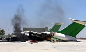 Fight for Tripoli airport