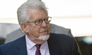 Rolf Harris arriving at Southwark crown court during his trial this year.