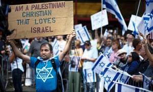 Israel rally New York Christian