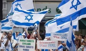 Pro-Israel rally London