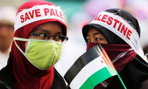 Gaza protest Jakarta