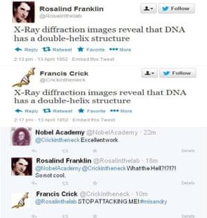 Rosalind Franklin on Twitter
