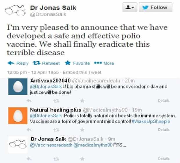 Jonas Salk on Twitter
