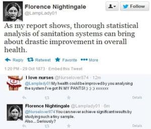 Florence Nightingale on Twitter