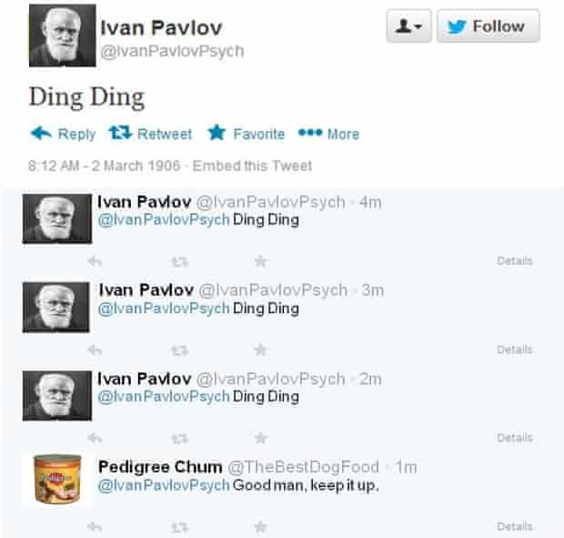 Ivan Pavlov on Twitter.