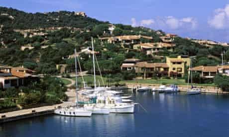 Yachts in Porto Cervo, Costa Smeralda, Sardinia