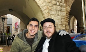 Nissim Sean Carmeli, left, in Jerusalem. The Israel Defense Forces said Carmeli was killed in combat in the Gaza Strip. He was from South Padre Island, Texas.