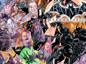 Batman: Arkham Origins, one of the Motion Book titles
