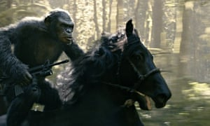 The sight of apes on horseback in Dawn of the Planet of the Apes sends shivers down the spine.
