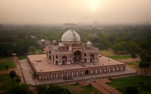 The Emperor Humayun's tomb, commissioned by his widow at her own expense